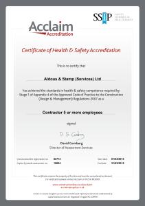 AcclaimAccreditation 2014-15 Cert